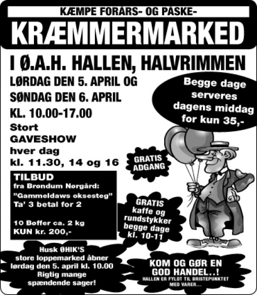 Annonce krmmermarked